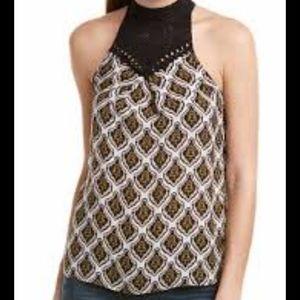 A.L.C. Womens Ava Silk Top